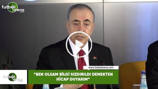 """'Mustafa Cengiz: """"Ben olsam bilgi sızdırıldı demekten hicap duyarım"""""""