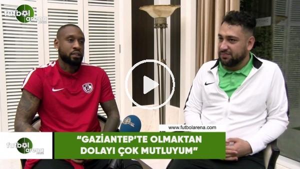 """'Kana Bıyık: """"Gaziantep'te olmaktan dolayı çok mutluyum"""""""