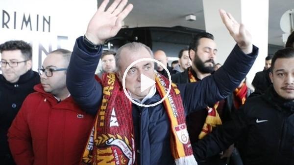 'Galatasaray kafilesi Konya'ya geldi