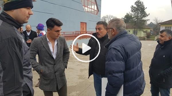 Kulüp başkanı ve futbolcu babası arasında maç sonrası gerginlik