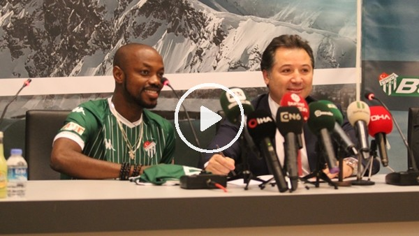 'Bursaspor, Traore ile sözleşme imzaladı