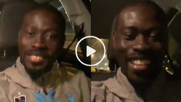 'Badou Ndiaye'nin maç sonu Türkçe paylaşım