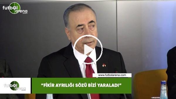 """'Mustafa Cengiz: """"Fikir ayrılığı söz bizi yaraladı"""""""