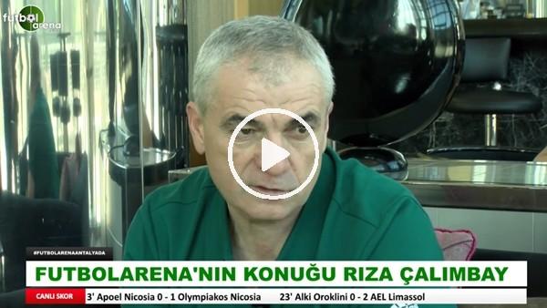 """Rıza Çalımbay: """"Beşiktaş'ta oynarken transfer teklifi gelmişti bana, takım kaptanıyım bir yere gitme şansım yok demiştim"""""""