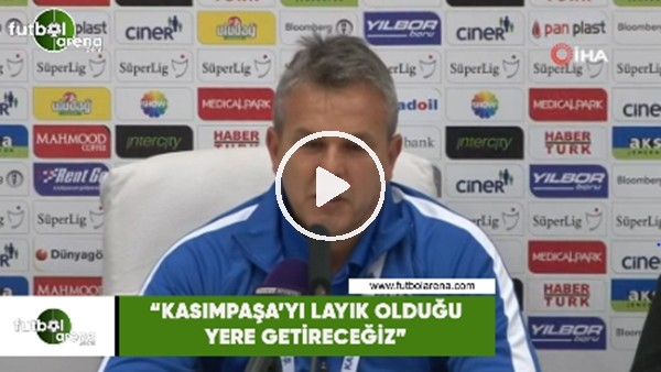 """Erkan Çokar: """"Kasımpaşa'yı layık olduğu yere getireceğiz"""""""