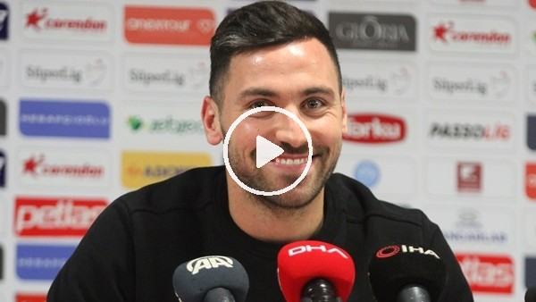 """'Sinan Gümüş: """"Antalyaspor çok güzel buraya gel ve bize yardım et dediler ben de geldim"""""""