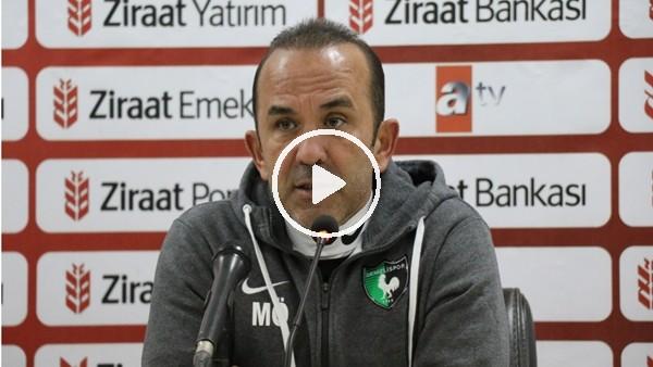 """'Mehmet Özdilek: """"Biz kupada eleneceksek böyle elenmeliydik"""""""