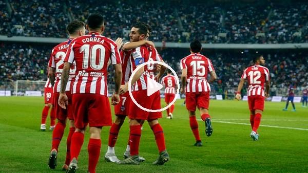 'Barcelona 2-3 Atletico Madrid (Maç özeti)