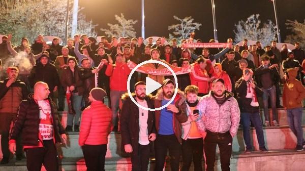 'Sivas'ta, Beşiktaş galibiyeti doyasıya kutlandı