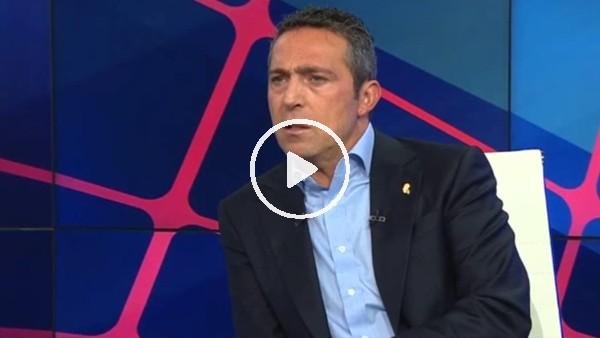 """'Ali Koç: """"Yabancı futbolcular artık bilecek ki; Türkiye para kazanma yeri değil"""""""