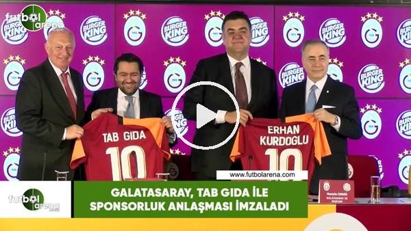 'Galatasaray, TAB Gda ile sponsorluk anlaşması imzaladı