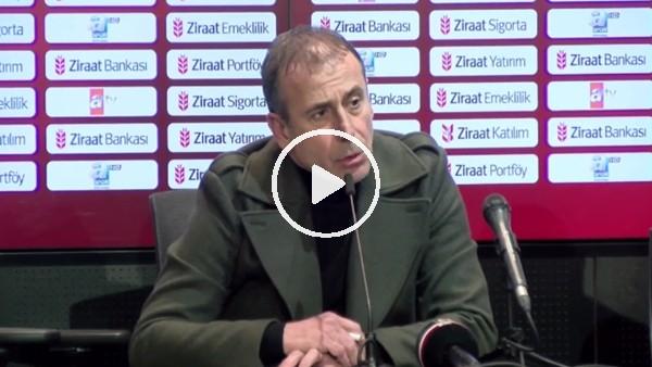 """'Abdullah Avcı: """"Top ayağımıza değmeden ve sonra alt lig takımından 4 dakikada 2 gol yedik"""""""