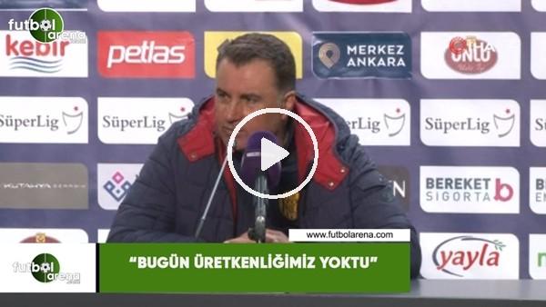 """Mustafa Kaplan: """"Bugün üretkenliğimiz yoktu"""""""