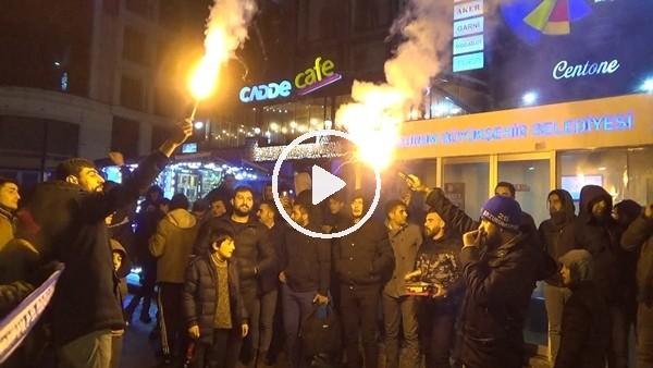 'Erzurum'da kupa coşkusu