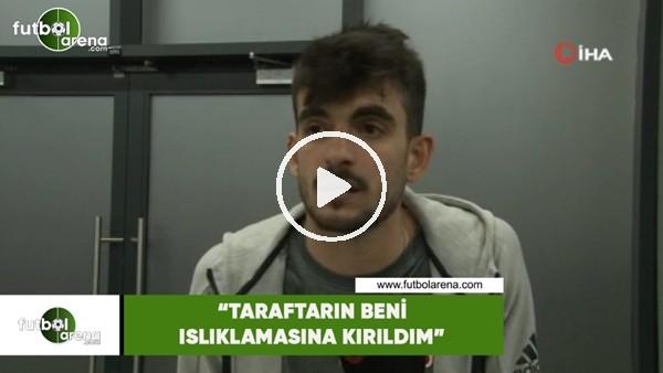 """'Fatih Aksoy: """"Taraftarın beni ıslıklamasına kırıldım"""""""