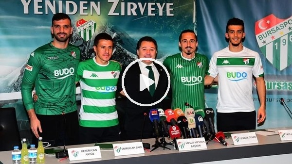 'Bursaspor'da transfer şov