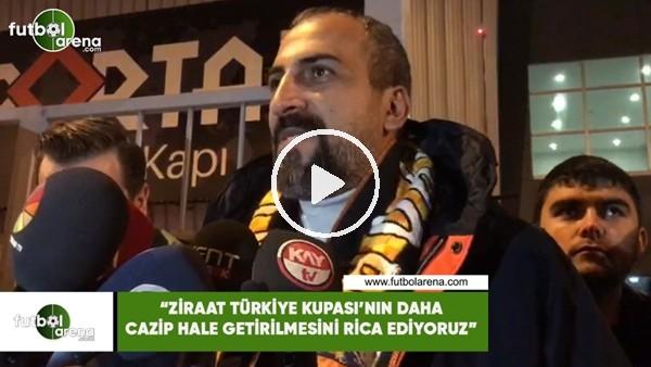 """'Mustafa Tokgöz: """"Ziraat Türkiye Kupası'nın daha cazip hale getirilmesini rica ediyoruz"""""""