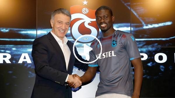 Trabzonspor, Badou Ndiaye ile sözleşme imzaladı