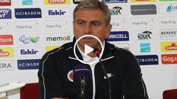 """'Hamza Hamzaoğlu'ndan Skoda açıklaması! """"Rizespor'a nasipmiş"""""""