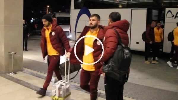 'Galatasaray kafilesi Rize'de