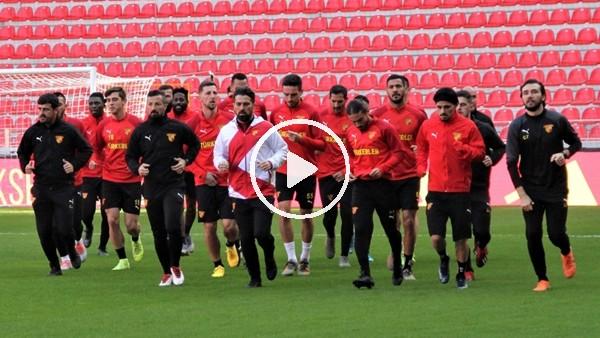 'Göztepe, yeni stadında ilk antrenmanını yaptı