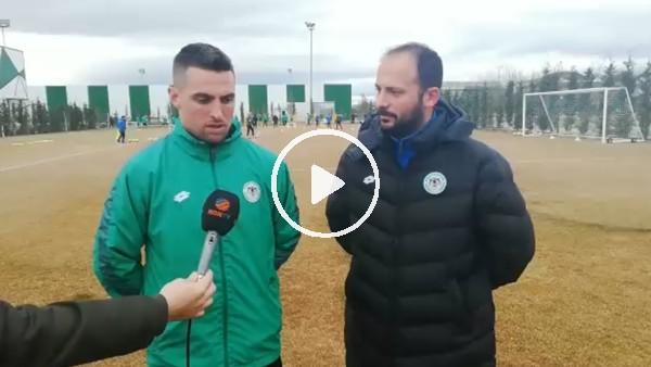 'Konyaspor'un yeni transferi Robert Mak'tan açıklamalar