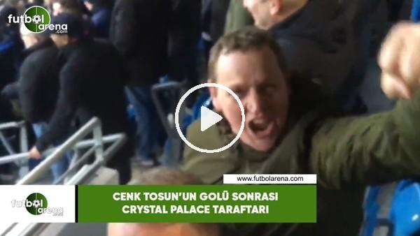 'Cenk Tosun'un golü sonrası Crystal Palace taraftarı