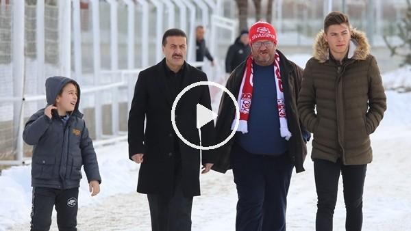 'Fenomen Sivasspor taraftarı, futbolcularla buluştu