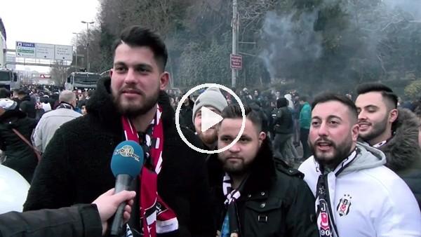 'Gurbetçi taraftarların Beşiktaş aşkı