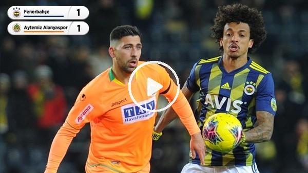 Fenerbahçe - Aytemiz Alanyaspor maçından notlar