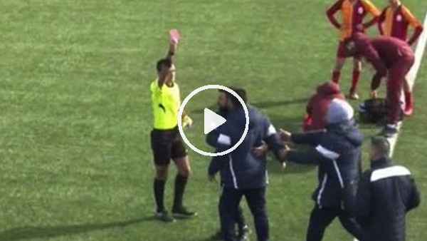 Galatasaray - Başakşehir U14 maçında gerginlik