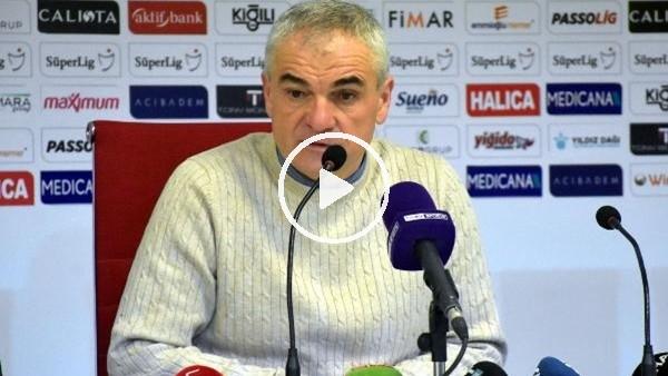 """'Rıza Çalımbay: """"Pozisyon net penaltı"""""""