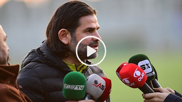 """'İbrahim Üzülmez: """"Erzurumspor maçını final maçı olarak değerlendirmiyorum"""""""