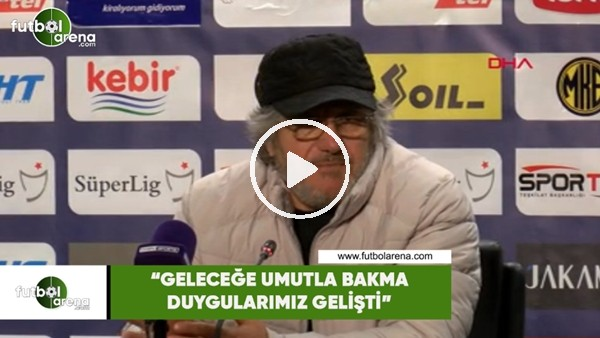 """'Mustafa Reşit Akçay: """"Geleceğe umuta bakma duygularımız gelişti"""""""