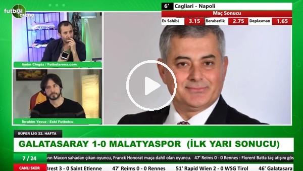 'Selçuk Dereli, Galatasaray - Yeni Malatyaspor maçındaki tartışmalı pozisyonları yorumladı