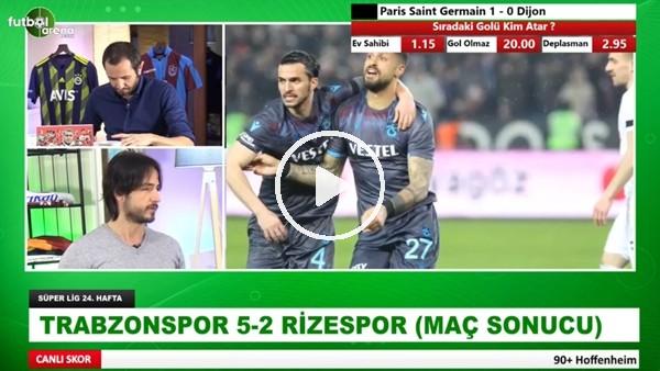 Trabzonspor 5-2 Çaykur Rizespor | Aydın Cingöz ve İbrahim Yavuz maçı yorumladı
