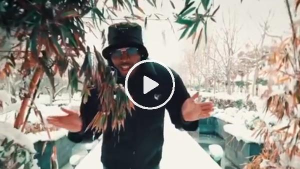 Daniel Sturridge'nin kar üstündeki dansı beğeni topladı