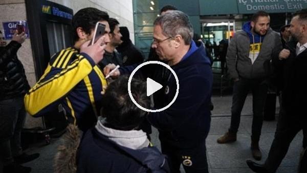 'Fenerbahçe kafilesi Ankara'ya geldi