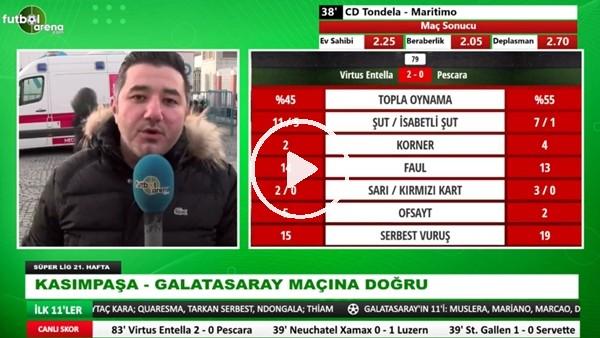 'Kasımpaşa - Galatasaray maçına öncesi son gelişmeleri Ali Naci Küçük aktardı