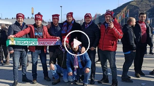 'Trabzonsor - Sivasspor maçı öncesi stat çevresi