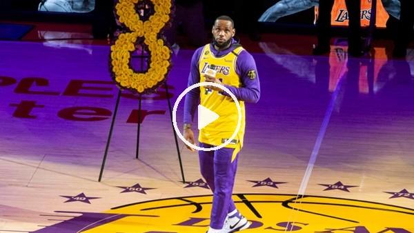 Kobe Bryant'ın anma töreninde duygusal anlar yaşandı