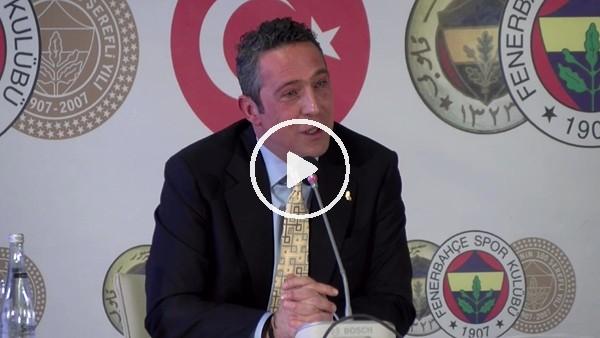 """'Ali Koç: """"Spor ve siyasetin ayrı kulvarda olması gerektiğini başından beri söylüyoruz"""""""
