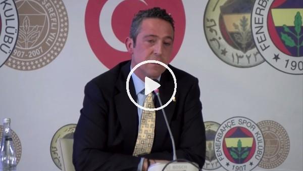 """'Ali Koç: """"TFF ligin kaderini kökünden etkiledi"""""""