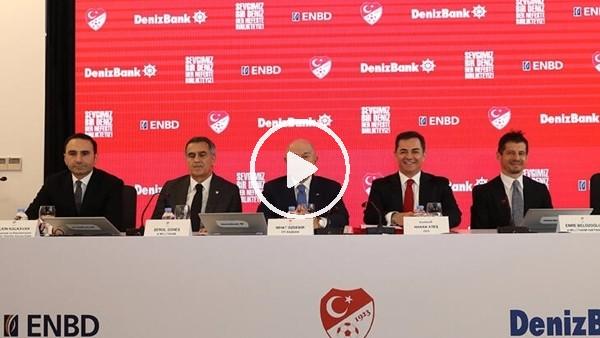 DenizBank, Milli Takm'ın ana sponsoru oldu