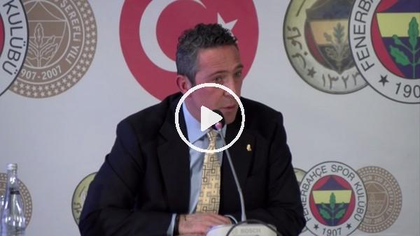 Ali Koç'tan Nihat Özdemir sözleri