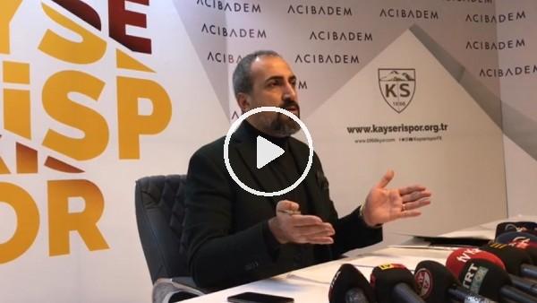 "Kayserispor Basın Sözücü Mustafa Tokgöz: ""İstifa söz konusu değil"""