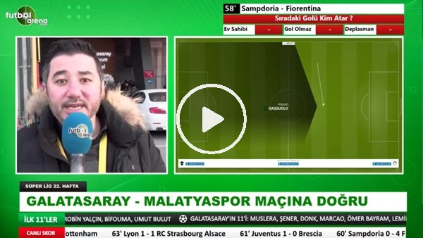 'Galatasaray - Yeni Malatyaspor maçına doğru! Ali Naci Küçük aktardı