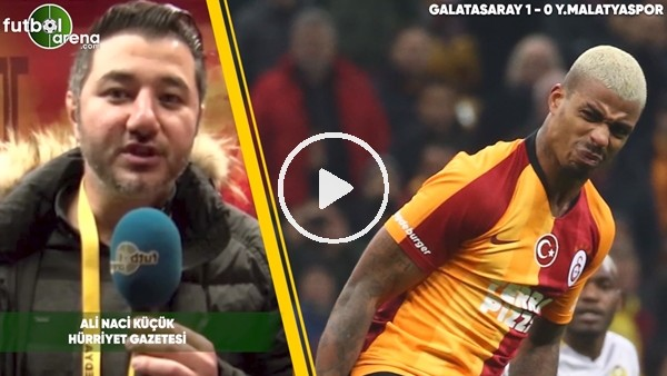 'Galatasaray 1-0 Yeni Malatyaspor #KareAs