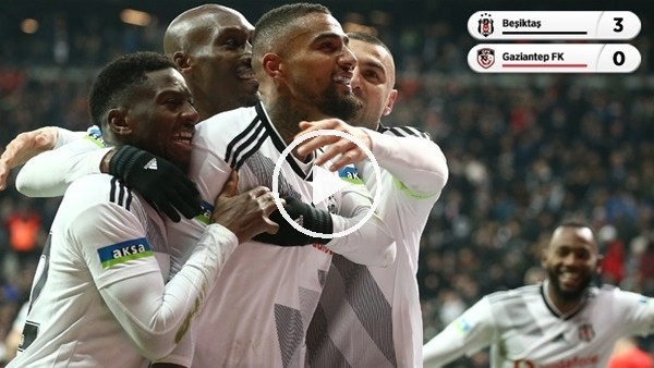 'Beşiktaş - Gaziantep FK Maçında Kim, Nasıl Oynadı? Çağdaş Sevinç Aktardı