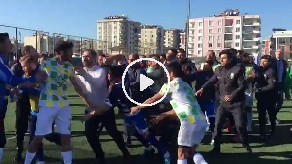Aydın'da futbolcular bir anda boksöre dönüştü